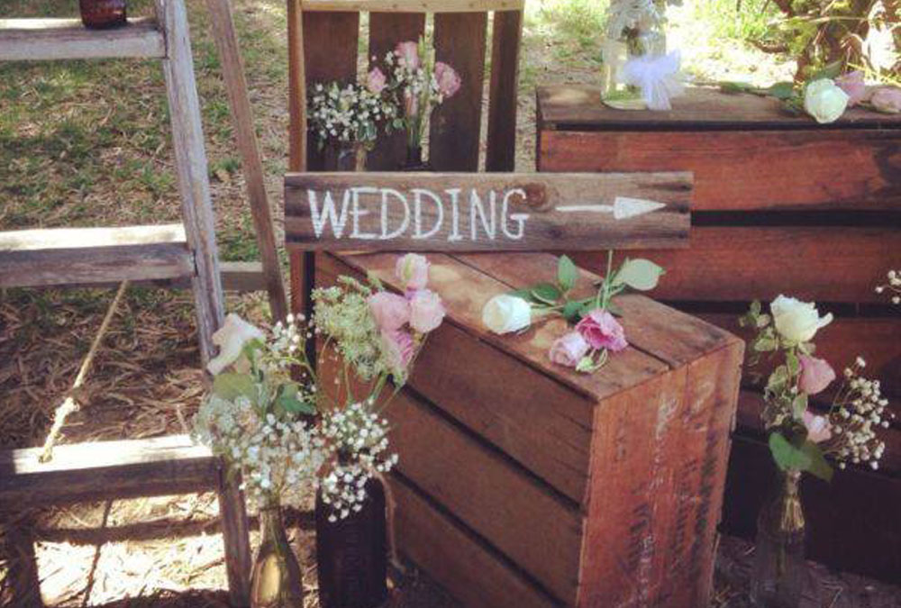 Rustic wedding styling inspiration